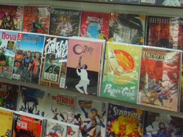 World of Games offers a variety of Vintage and New Comic Books, including a selection of Graded Comics.