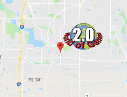 Click on the map to get directions from Eagan, Minnesota to your Local Video Game, Trading Card and Comic Book Store in Lakeville, Minnesota.